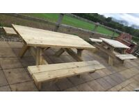 Picnic table now taking orders