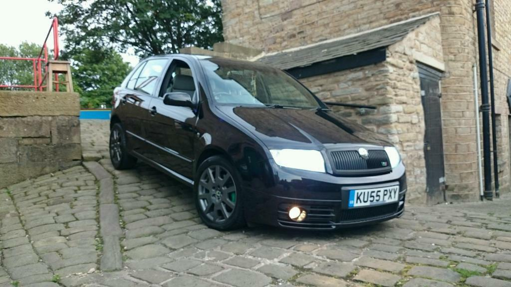 skoda fabia vrs 1 9 tdi 130 bhp in blackburn lancashire gumtree. Black Bedroom Furniture Sets. Home Design Ideas