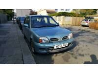 Nissan Micra (2001)+ 5 door + Low Milage 40k + AC + Sony CD/USB Player