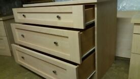 Three piece bedroom furniture