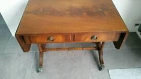 Extending drop leaf side / coffee / hallway table