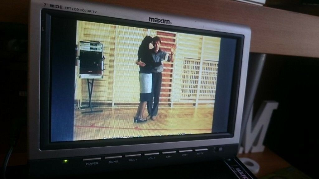 TV Maxim 7 Inch Color LCD Monitor Built In Speakers
