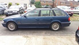 5 SPEED MANUAL BMW 523 ESTATE LONG MOT 1 OWNER