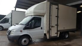 FORD TRANSIT T350 125 LUTON 2013/13 176K 13 6FT BODY WITH SIDE DOOR,£6000 NO OFFERS ON PRICE