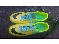 Nike Mercurial victory IV FG Yellow/Black/Lime
