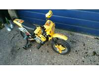 Electric bike for children loads of fun for the little ones