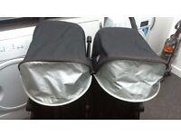 maclaren double stroller
