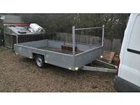 fully refurbished single axle trailer
