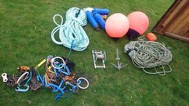 Bouys, rope ect job lot l@@k