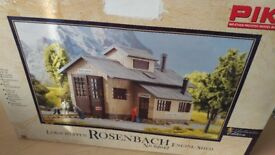 Piko G Scale Rosenbach Engine Shed - NEW