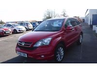 HONDA CR-V EX I-DTEC AUTO,(60)Plate,Leather,Sat Nav,Privacy Glass,1 OWNER,Full Service History