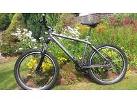 "Carrera Fury am 20"" Mountain Bike with loads of upgrades."