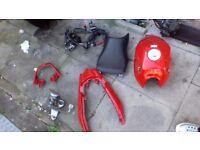 Honda cbf 125cc parts