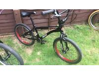 Custom gt zone bmx with salt cranks and new chain