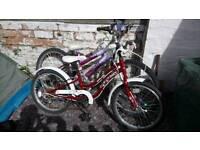2 girls bikes 7 8 9 10