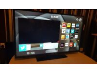 "LUXOR 43"" SUPER Smart FHD TV,built in Wifi,Freeview HD, NETFLIX,GREAT Condition.. Ex-Display"