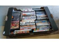 Box of 58 DVD's and 14 CD's Bargain Price