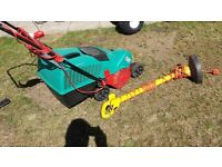 Electric lawnmower & trimmer £20