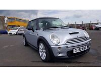MINI COOPER S SUPERCHARGED PANORAMIC SUNROOF AFTERMARKET EGZOST CHILL PACK * SWAP OR PART EXCHANGE *