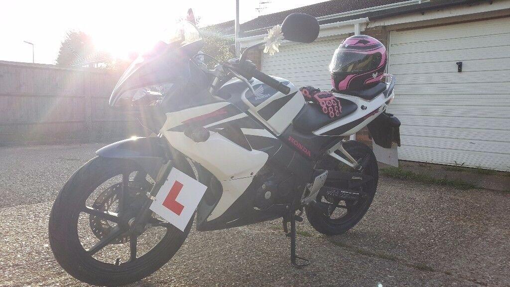 Honda CBR 125R race tuned '07 motorbike MOT service history
