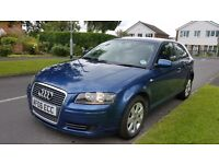 2006 Audi A3 SE Automatic, Full 12 Months MOT, excellent condition