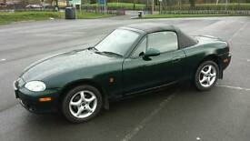 Mazda MX5(2002) 5 speed. ☆☆☆☆☆☆ One Owner From New ☆☆☆☆☆