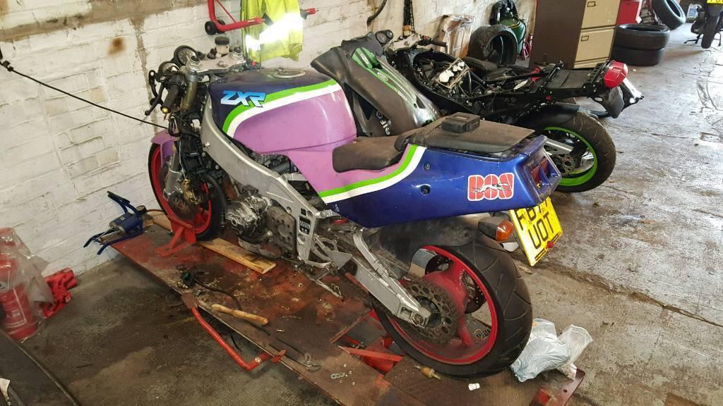 2 x Kawasaki zxr400 ninjas   winter projects    + spares | in Edinburgh  City Centre, Edinburgh | Gumtree