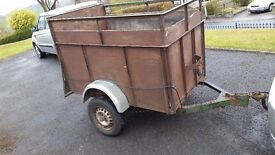 Strong Box Trailer with ramp