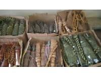 Rope tassels job lot around 60 pairs