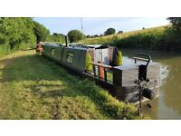 50 ft canal boat