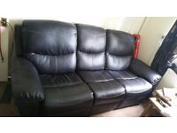 Electric Recliner Sofa Set 3 seats [PRICE NEGOTIABLE]