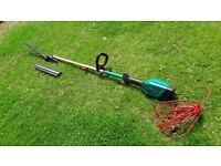 Bosch long reach electric hedge cutter