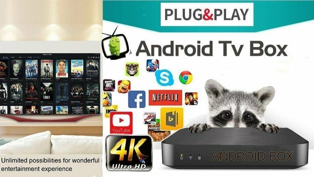 Android Tv Box 4k *Plug & play* | in Langley Mill, Nottinghamshire | Gumtree