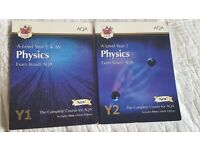 Year 1/AS level and A2 level books.