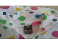 Kids Trespass spotty base layer 9-10yrs