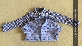 Boys Shirts Age 2-3