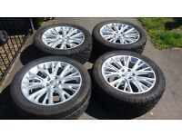 "GENUINE 20"" 2014 RANGEROVER L322 AUTOBIOGRAPHY WESTMINSTER ALLOY WHEELS 7MM VW T5 T6 TRANSPORTER"