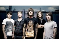 BRING ME THE HORIZON - DOWNSTAIRS STANDING - O2 ARENA - SAT 05/11 - £55!