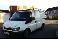 transit swb 2005 starts/runs/drives august m.o.t SPARES OR REPAIR