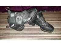 Mens Black Capezio Jazz Dance Trainers Boots size 8
