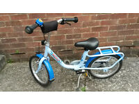 Puky Bike, Puky bicycle with peddles, suitable for 3/4+ once they have learnt to ride