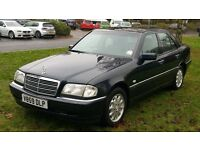 MERCEDES C200 AUTOMATIC PETROL(12 MONTHS MOT(FULL DEALERSHIP SERVICE HISTORY
