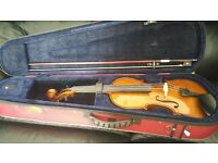 Full Size 4/4 Stentor II Violin, comes complete with case, bow, resin, and digital tuner