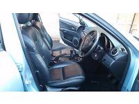 Mazda 3, 46k mileage, LEATHER Upholstry, 58 reg