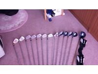 Set Golf Clubs Right Hand Top Flite with Bag