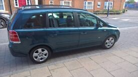 2006 Vauxhall Zafira Club, 7 SEATER, MOT Until Jan 2019