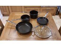 Le Creuset Toughened Non-Stick Pans (used but Excellent)