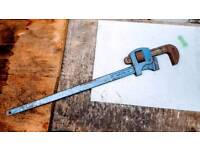 LARGE RECORD 36 PIPE WRENCH