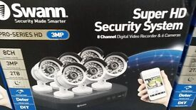 Swann DVR8-4750 8 Channel 2TB CCTV Kit with 6 Cameras. Home or business security cctv camera