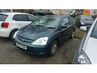 2002 honda civic 1.4 petrol sale or swap